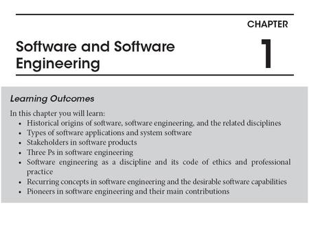 Software Software is omnipresent in the lives of billions of human beings. Software is an important component of the emerging knowledge based service.