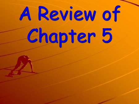 A Review of Chapter 5 USING ELECTRICITY IN YOUR HOME WORK, ENERGY, AND POWER.