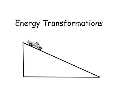 Energy Transformations. Energy Ability to do Work or cause Change.