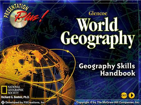 Splash Screen Thinking Like a Geographer 5 Latitude Lines of latitude, or parallels, circle the earth parallel to the Equator and measure the distance.