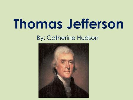 a biography of thomas jefferson the father of american architecture Why hamilton—not jefferson—is the father of the american  ones that started  with thomas jefferson and alexander hamilton jefferson has gotten the better  monuments and the better press in both newspapers and history books (but not  in  he was the architect of the boldest, most original, and most.