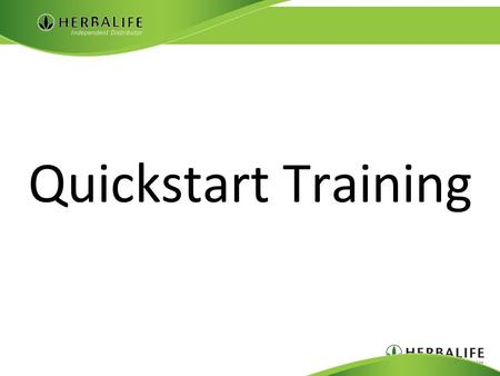 "Quickstart Training. Marketing Plan Basics Two Income Forms 1. Retail: (25% - 50%)  ""Quick Cash"" 2. Royalty:  ""Stable long-term income"""