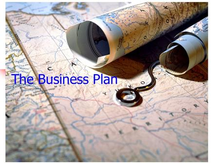 The Business Plan We are starting a new business. We discussed three steps for starting that business. What was the first step? DEVELOPING A BUSINESS CONCEPT.
