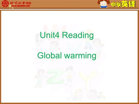 Unit4 Reading Global warming.