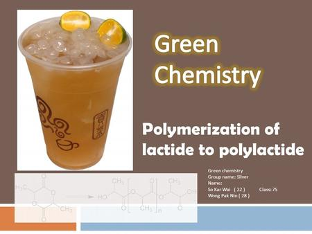 Polymerization of lactide to polylactide
