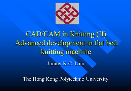 Jimmy K.C. Lam The Hong Kong Polytechnic University