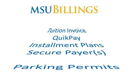 Click on MENU for the options Click MyInfo to access Student Secure Area Course Schedule Etc.