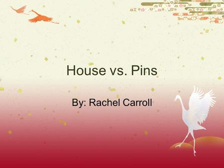 House vs. Pins By: Rachel Carroll. Problem  How do regular household liquids (bleach,salt water, regular water, laundry detergent, dishwasher detergent,