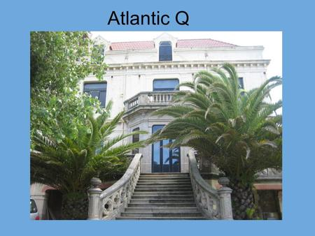 Atlantic Q. Atlantic Q is an Apparel Trading Company based in the North of Portugal, in the picturesque town of Foz, located 5 mins from the.