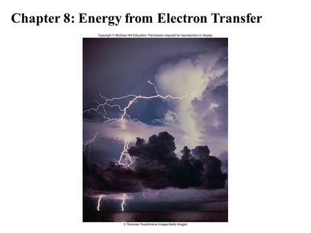 Chapter 8: Energy from Electron Transfer. A battery is a system for the direct conversion of chemical energy to electrical energy. Batteries are found.