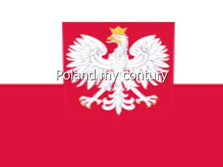 Poland my contury. Warsaw- the capital city Since XVII century Warsaw with population nowadays more than 2 million people has been the capital city of.