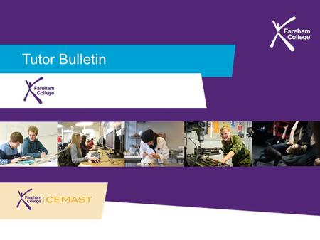Tutor Bulletin. W/C 21st September 2015 'Study Skills'