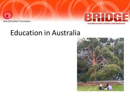 Education in Australia. What do I K now? W hat do I want to know What have I L earnt?