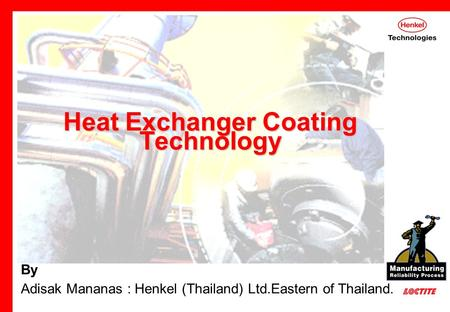 Heat Exchanger Coating Technology