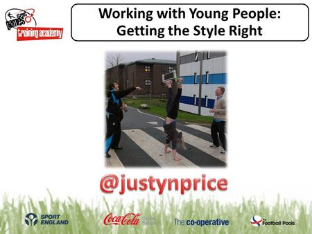 Working with Young People: Getting the Style Right.