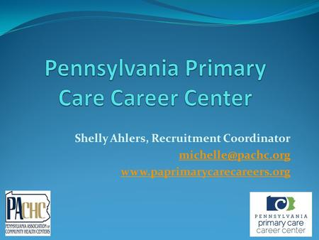 Shelly Ahlers, Recruitment Coordinator