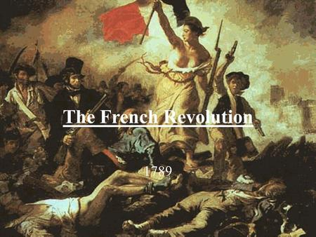 the french revolution the industrial revolution