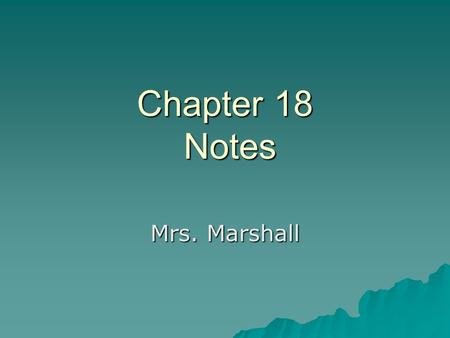 Chapter 18 Notes Mrs. Marshall.  By 1850 the South was well of both politically and economically.  Zachary Taylor, southern born slaveholder, was President.