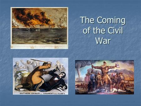 The Coming of the Civil War. MexicanWar(1846-1848)