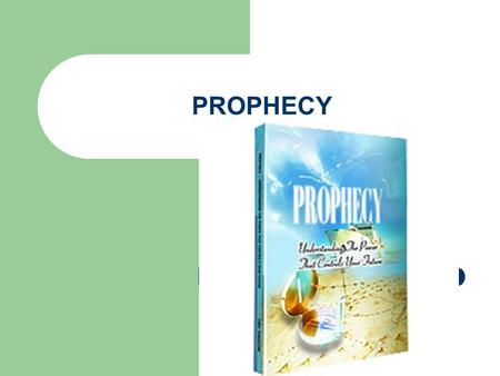PROPHECY. INTRODUCTION Gods people are people of prophecy Builds us through prophecy Bless us through prophecy Your mouth is a compass of your life Your.