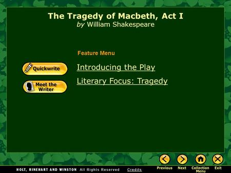 the masterful use of language in macbeth a tragic play by william shakespeare Macbeth [william shakespeare] is a play written by the great william shakespeare set mainly in scotland even if it were written in language my students.