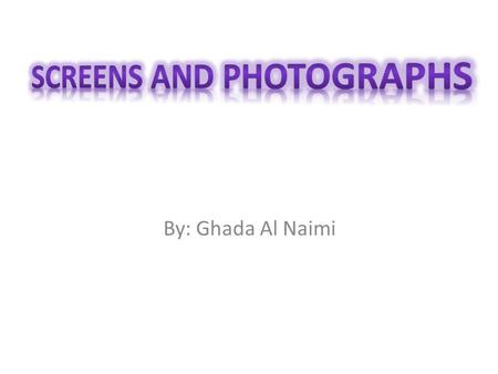 By: Ghada Al Naimi. I'm trying to know the dimensions of a video game ( cinema screens, television screens, computer screens ) and to find how are they.
