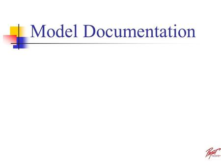 Model Documentation.