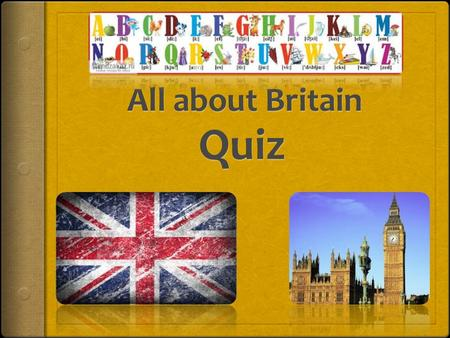 Round 1. Country What is in the maps? 1 2 3 Round 1. Country Is Great Britain the same as Britain? The (1) is a geographical term which includes two.
