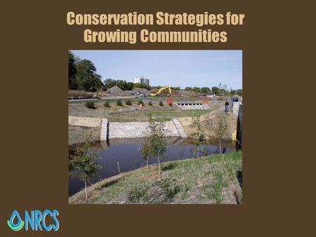 Conservation Strategies for Growing Communities. The Growth of Urban Conservation.