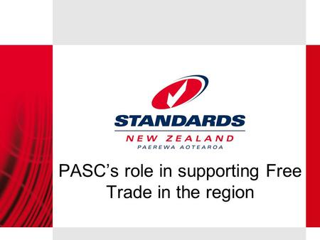 PASC's role in supporting Free Trade in the region.