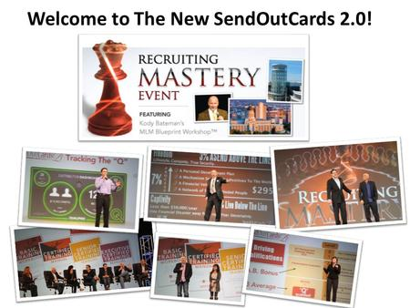 Welcome to The New SendOutCards 2.0!. New Rank Called Senior Distributor.