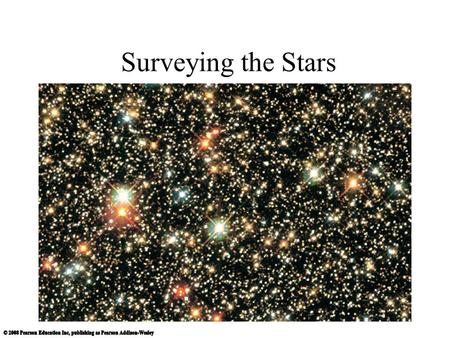 Surveying the Stars Insert TCP 5e Chapter 15 Opener.