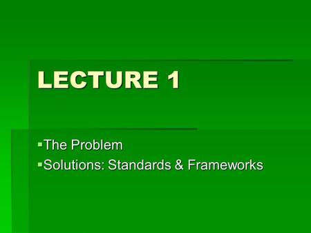 itil service portfolio management case study