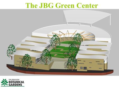 The JBG Green Center. Restaurant Urban Store retail space Workshop facilities The JBG Green Center Existing commercial complex.