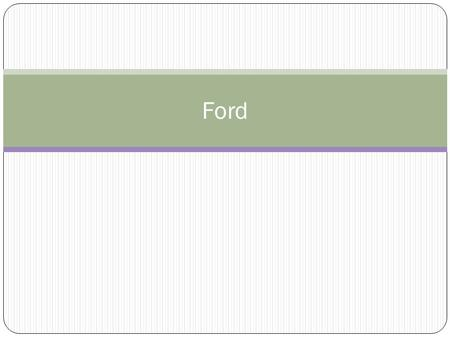 Ford. Objectives How did Gerald Ford become President, and why did he pardon Richard Nixon? What economic problems did the Ford administration face? What.