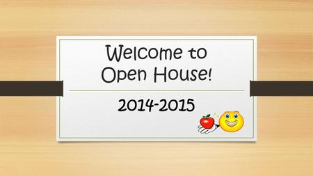 Welcome to Open House! 2014-2015. Ms. Sonia Paradelo I have been teaching at Miami-Dade County Public Schools for 10 years. Experience in Kinder, 2 nd.