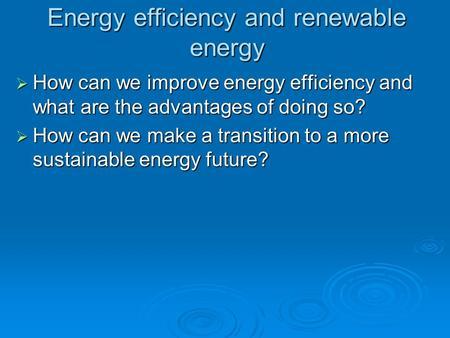Energy Efficiency and Renewable Energy Libya: National Study