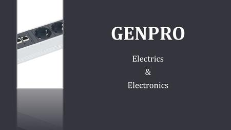 GENPRO Electrics & Electronics. . Switch Mode Power Supply-Output : 100A / 60 V-6KW GENPRO Electrics & Electronics.