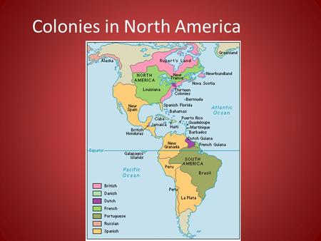 differences in american colonies American colonial life in the late 1700s: native american friendliness was the despite their differences, people in all colonies were becoming increasingly.