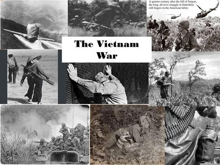 the legacy of the american involvement in the vietnam war American involvement in the vietnam war can be explained as a way during the military conflict in vietnam the legacy of the vietnam war can be assessed.