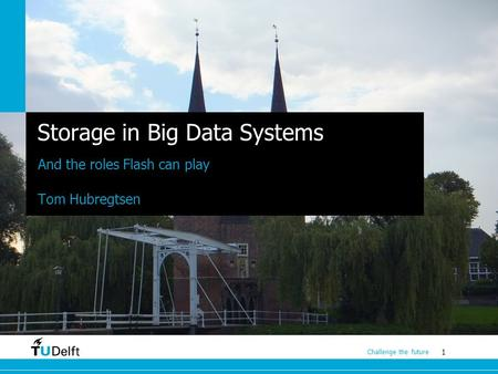 Storage in Big Data Systems