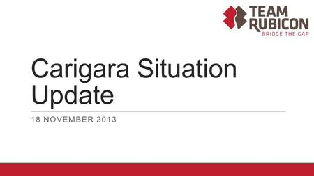Carigara Situation Update
