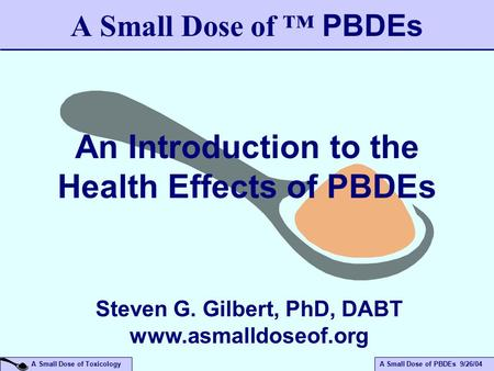 An Introduction to the Health Effects of PBDEs