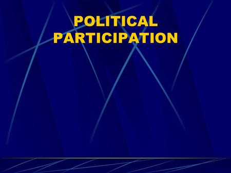 POLITICAL PARTICIPATION. Gladiatorial Activities Holding public and party office Being a candidate for office Soliciting political funds Attending a caucus.