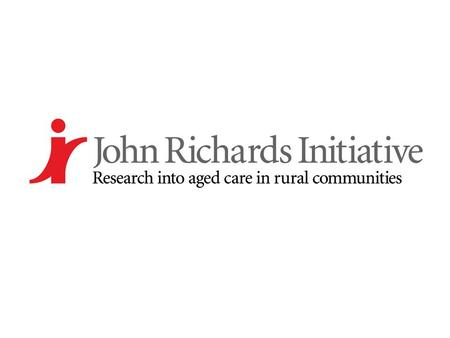 Building social capacity for older people through ICTs Jeni Warburton John Richards Research Initiative La Trobe University Australia.