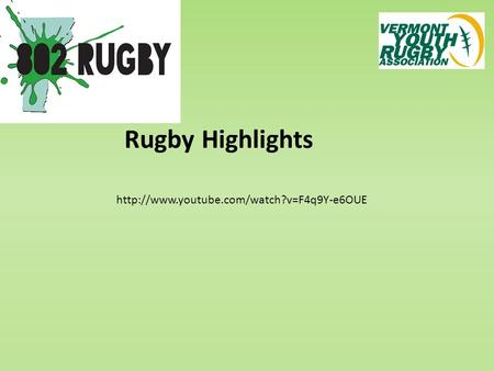 Rugby Highlights.