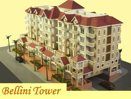 Bellini Tower. - Mixed commercial (ground floor) and residential tower - Proximity to the Commercial Center, featuring retail outlets and establishments.