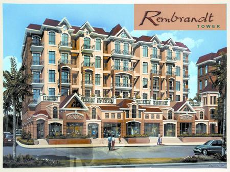 Rembrandt Tower - Mixed commercial (ground floor) and residential tower - Proximity to the Commercial Center, featuring retail outlets and establishments.
