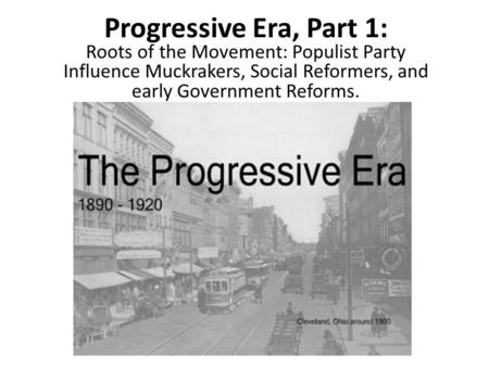 the impact of the populist movement in america Resurgence of populism in the 2016 election though today's political turmoil was bound to impact the 2016 but their populist-fueled campaigns are not so.