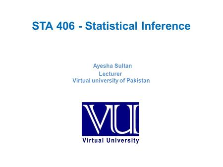 STA Statistical Inference